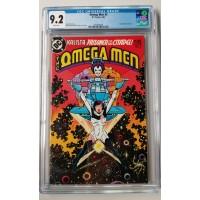Omega Men 3 -1st Appearance of Lobo - CGC 9.2