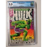 Incredible Hulk Annual #1 CGC 5.5 Inhumans Appearance