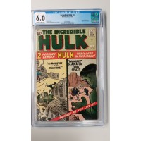 Incredible Hulk # 4  CGC 6.0 - Origin Retold