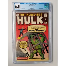 Incredible Hulk #6 CGC 6.5 -- Last issue; 1st Teen Brigade & Metal Master