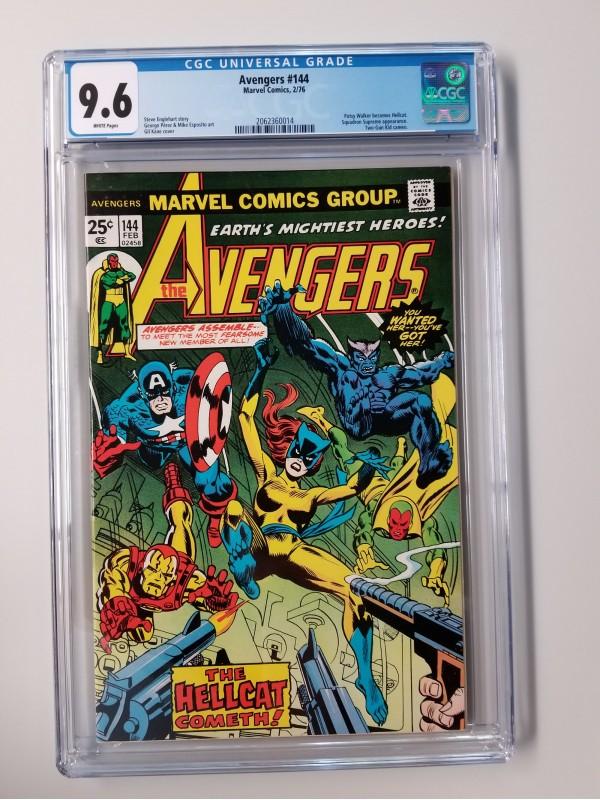 Avengers 144 CGC 9.6 - Patsy Walker becomes Hellcat
