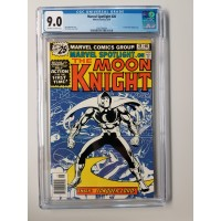 Marvel Spotlight #28 - The Moon Knight  CGC 9.0 - 1st Solo Moon Knight