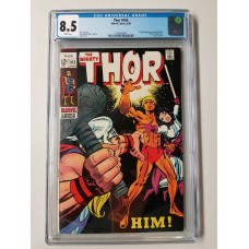 Thor #165  CGC 8.5  1st Full Appearance of HIM (Warlock)