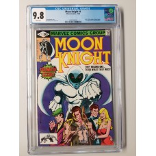 Moon Knight #1 CGC 9.8 - 1st Appearance of Raoul Bushman